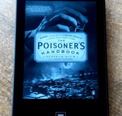 Cover of The Poisoner's Handbook by Deborah Blum.