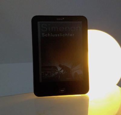 Schlusslichter // Georges Simenon